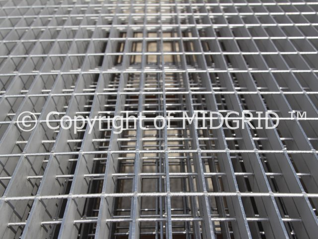Stainless Steel Gratings Grade 304 Standard Stock Panels